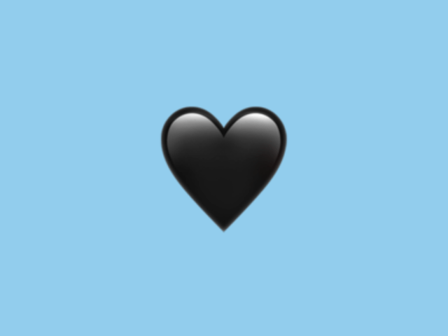 What Does A Black Heart 🖤 Emoji means and Stands for?
