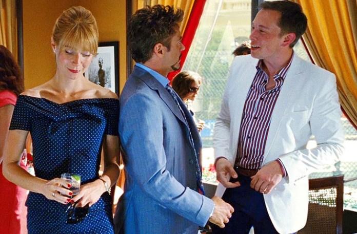 Scene when Elon musk meet Tony Stark in Iron Man (2010)