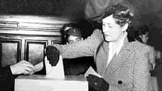 Женщины Франции стали полноправными участниками выборов 21 апреля 1944 года по постановлению Французского временного правительства. Первыми выборами, в которых женщины смогли принять участие наравне с мужчинами, стали муниципальные выборы 29 апреля 1945 года и парламентские выборы 21 октября 1945 года. Коренные мусульманки Французского Алжира получили право голоса только по декрету от 3 июля 1958 года
