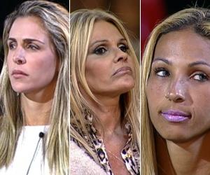Joana, Monique e Valesca formam a última Roça da temporada