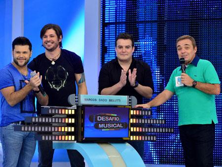 Famosos participam do <i>Desafio Musical</i> de hoje