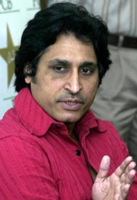 Ramiz- along with Waqar, very biased in commentary