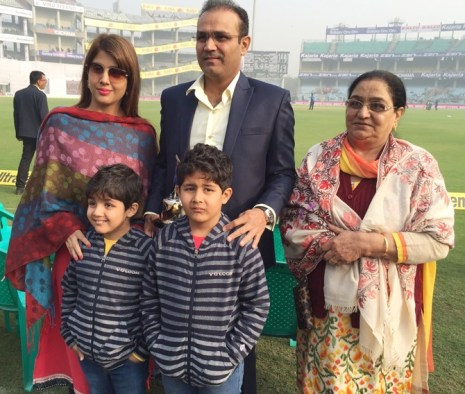 Image result for images of Aryavir Sehwag and Vedant Sehwag