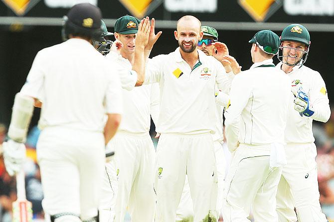 Gabba Test PHOTOS: Australia Put Kiwis On The Mat Before