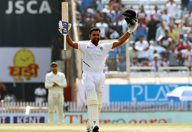 Image result for Rohit reveals the secret of his success as Test opener
