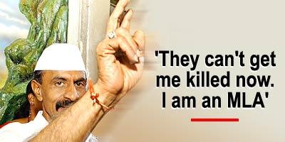 Arun Gawli, member of the Maharashtra assembly and criminal kingpin