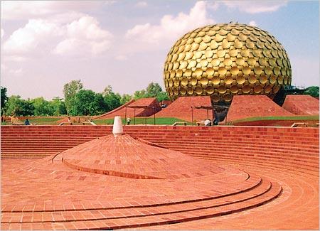 Image result for Sri Aurobindo Ashram at Auroville