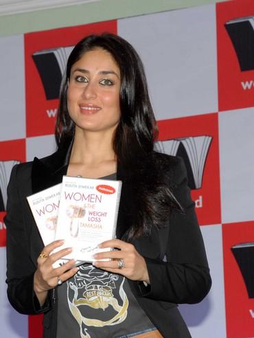 Kareena Kapoor at the launch of Rujuta Diwekar's new book