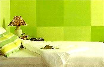 A Home Decorated By Asian Paints Colours