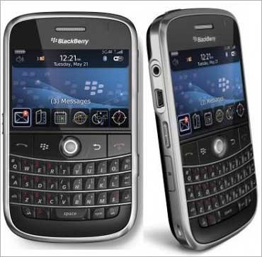 BlackBerry phones.