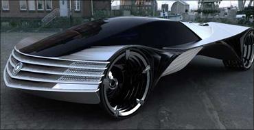 A Cadillac thorium-fuel concept car.