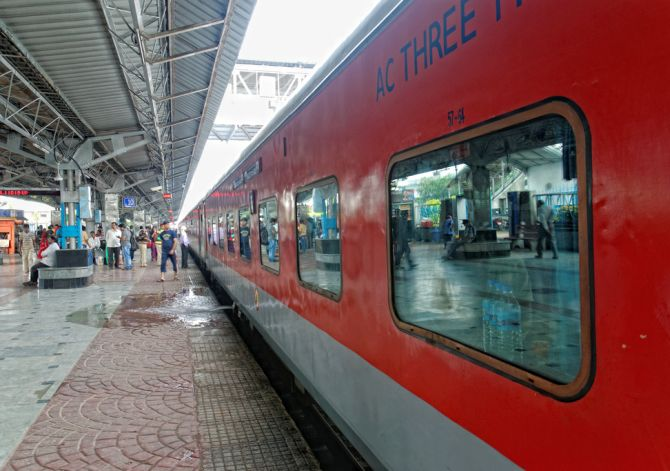 Learn From China Transform The Indian Railways Rediff
