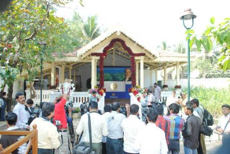 Dhirubhai Ambani Memorial in Chorwad, Gujarat.