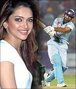 Yuvi hitting on Deepika