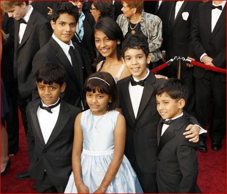 The Slumdog kids