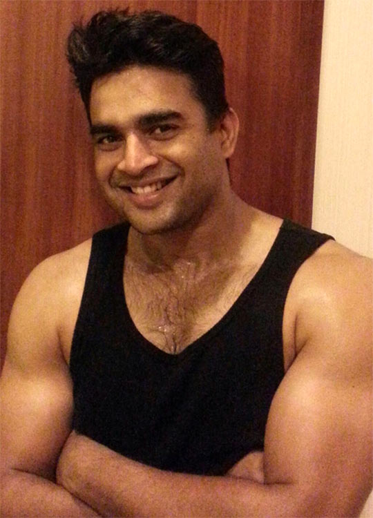 Image result for madhavan chest hair