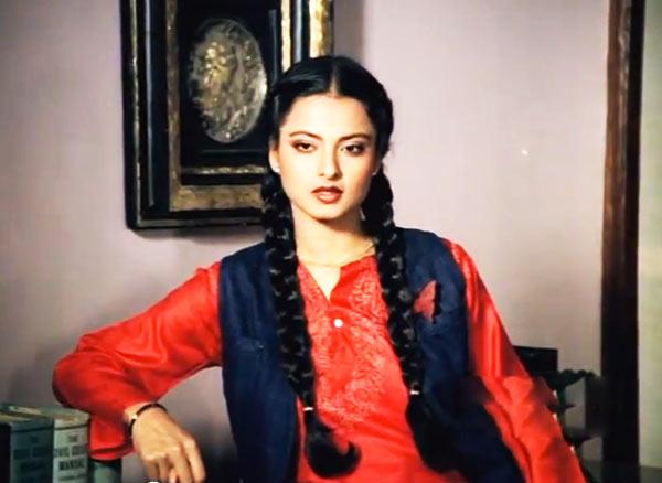 Image result for rekha khoobsurat pics