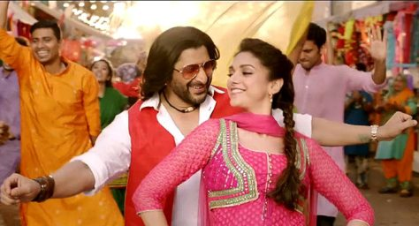 Arshad Warsi and Aditi Rao Hydari in The Legend of Michael Mishra