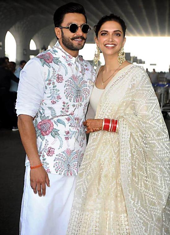 Deepika and Ranveer - Post Wedding - First Look