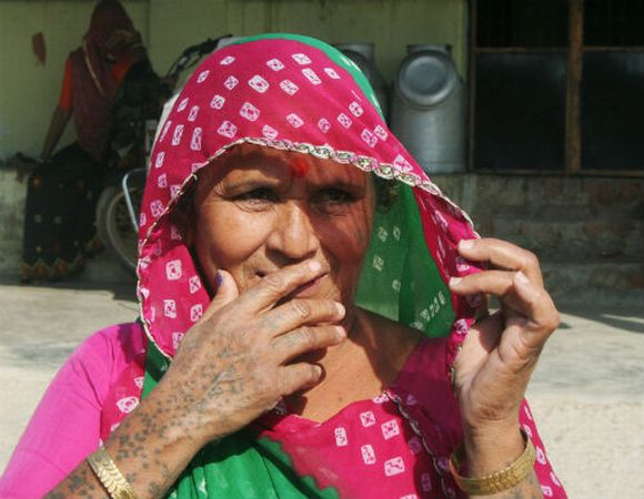 Villagers like Laxmiben have invested their bonanza in landholdings in adjacent villages