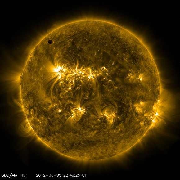 Stunning pics: Venus transit leaves beauty spot on sun ...