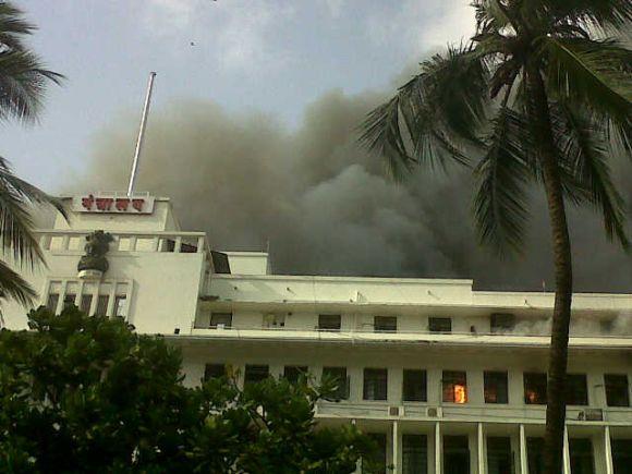 PHOTOS: Major fire at Mantralaya in Mumbai