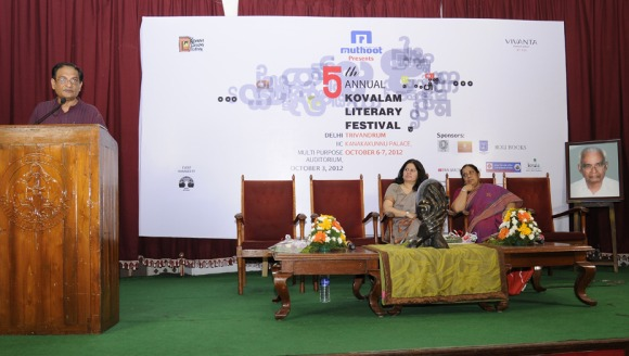 Dr Binayak Sen at the Kovalam Literary Festival in Trivandrum