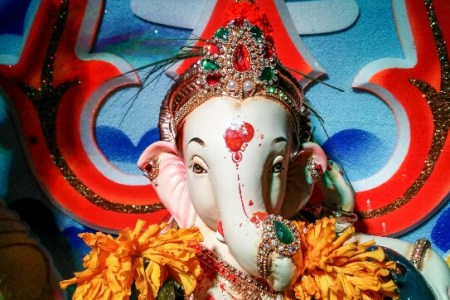 Goodbye Ganesha    it s not easy to let You go   Rediff com India News Bal Ganesha smiles benignly