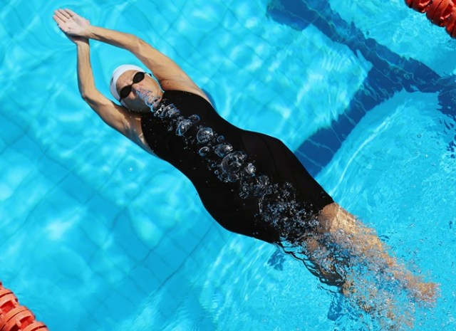 Image result for Nagwa Yousef Ghorab at Egyptian swimmer aged 76