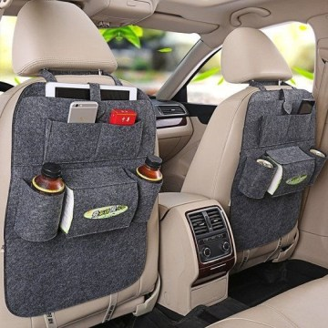 9 Car Accessories That Make Your Ride So Much Better   Best Travel     Car Backseat Organizer