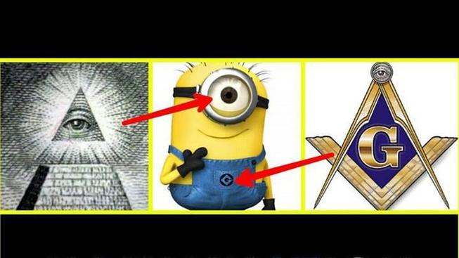 5 důkazů, že Mimoni slouží Iluminátům