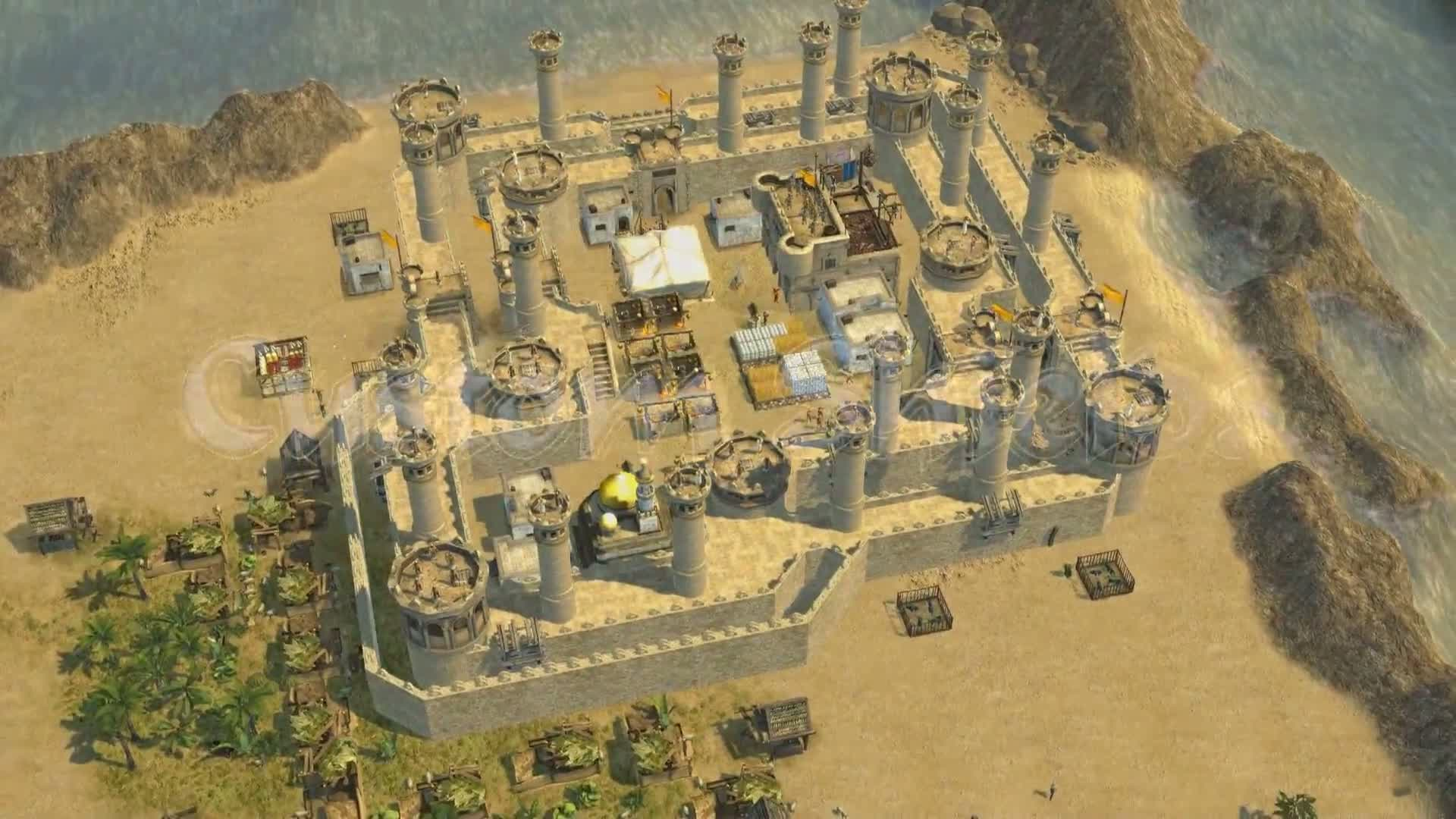 Stronghold Crusader 2 The Emperor Amp The Hermit DLC