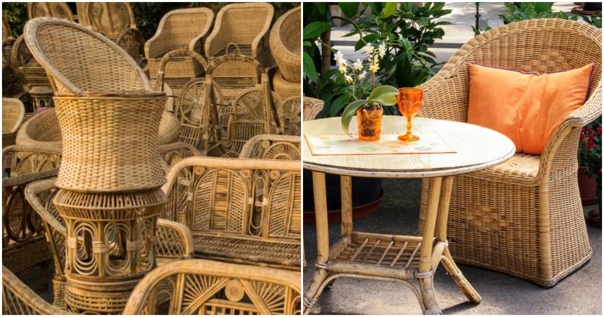 Some 12 million tons of furniture ends up in a landfill annually. Affordable And Good Quality Cane Furniture Pune | WhatsHot ...