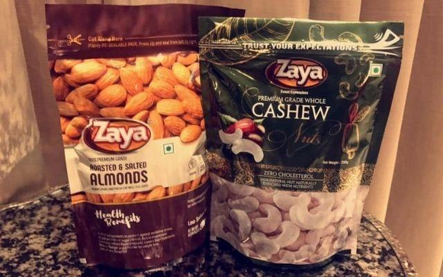 dry fruit Zaya bakes