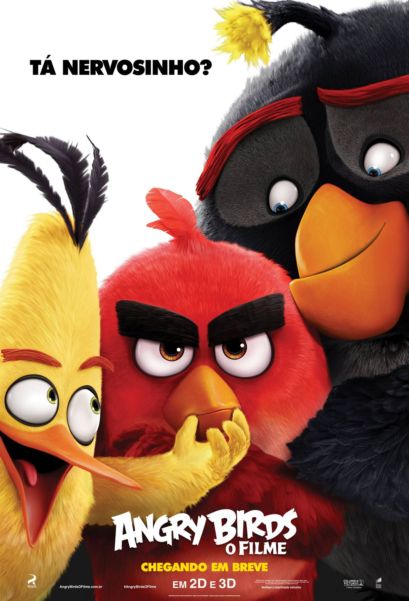 Poster do filme Angry Birds: O Filme