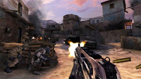 Android action games worth checking out   Handheld One of the most popular gaming franchises out there made its mobile debut  with Call of Duty  Strike Team  It is a mix of an FPS and a tactical  strategy game
