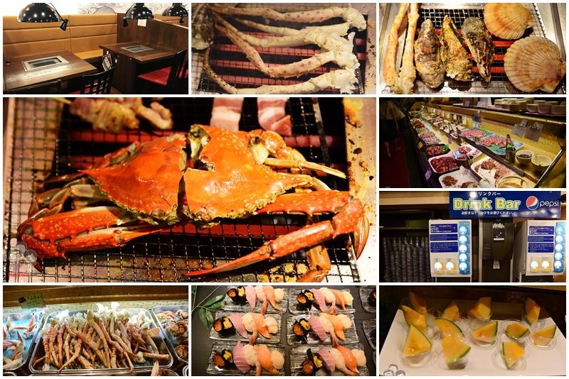 難陀 NANDA|帝王蟹腳吃到你嫑嫑的,海鮮燒烤吃到飽
