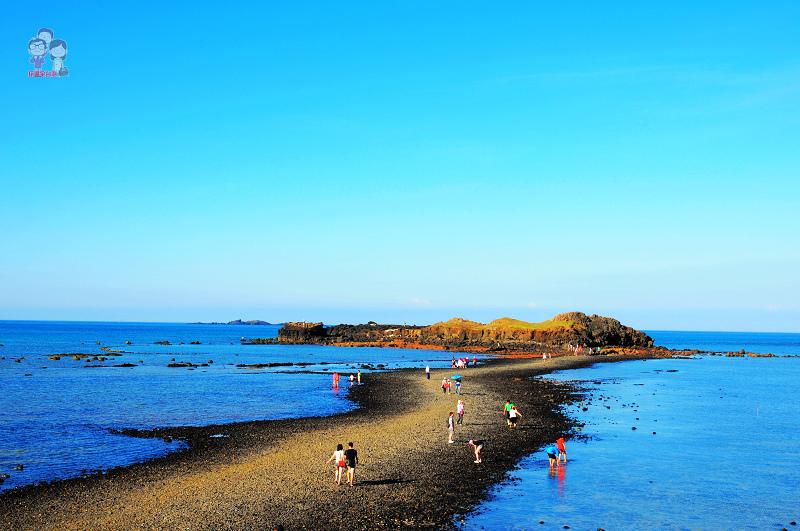 旅行菊島|真實版的摩西分海.奎壁山