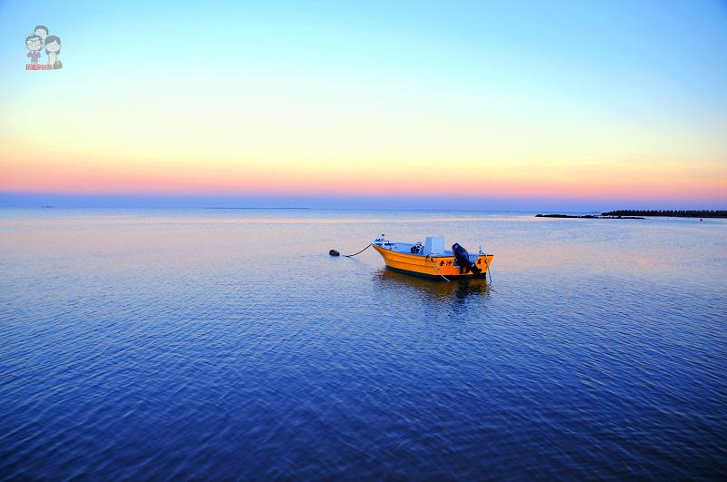 旅行菊島|隘門沙灘.遇見七彩晚霞