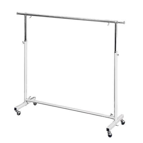 shop display clothes rack gold with