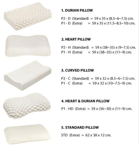 natural latex pillow from thailand 2