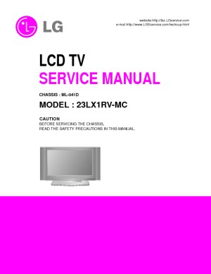 LG Flat TV 23LX1RV Manual de Serviciopdf LG 23lx1rvmc – Diagramasde – Diagramas