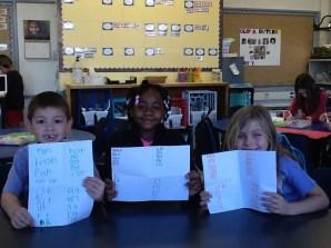 Smiling readers!