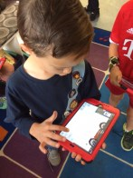 Exploring Keynote for the first time in first grade!