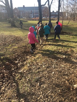 What is better than an outside walk to look for groundhogs on Groundhog Day?