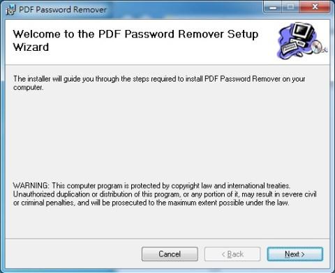 pdf 密碼移除 PDF Password Remover Tool