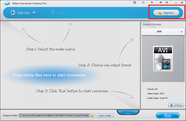 影音轉檔工具 Video Converter Factory Pro02