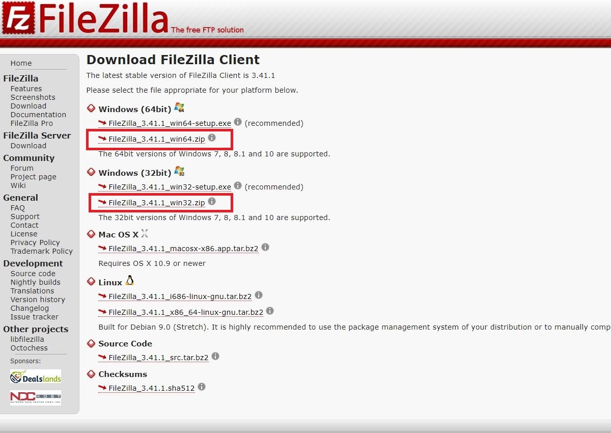 Filezilla繁體中文版下載 免安裝版本推薦使用