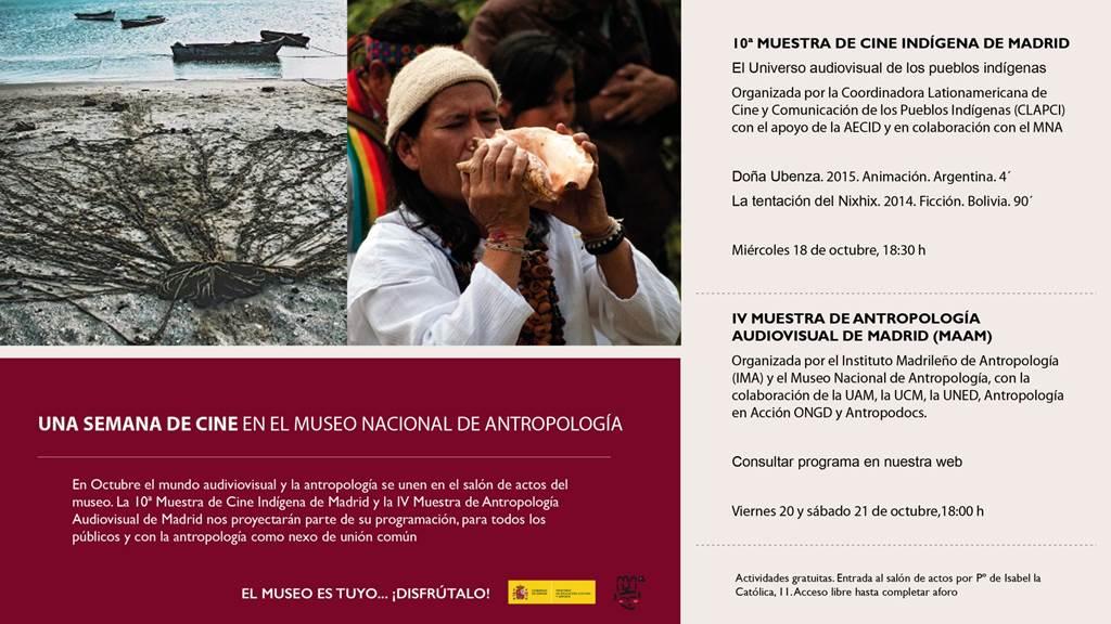 10ª muestra de cine indigena de madrid