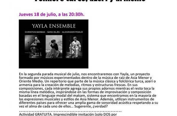 Los conciertos de Verano en el MNA